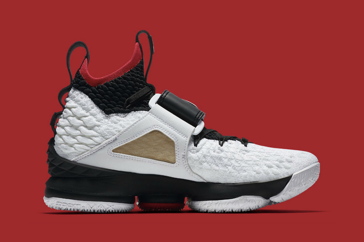 quality design c227c e2b6e The Nike LeBron 15