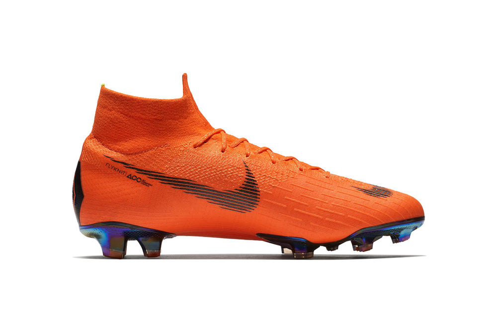 Nike Mercurial Superfly Vapor 360 soccer football cleat orange 2018 february release date info shoes footwear