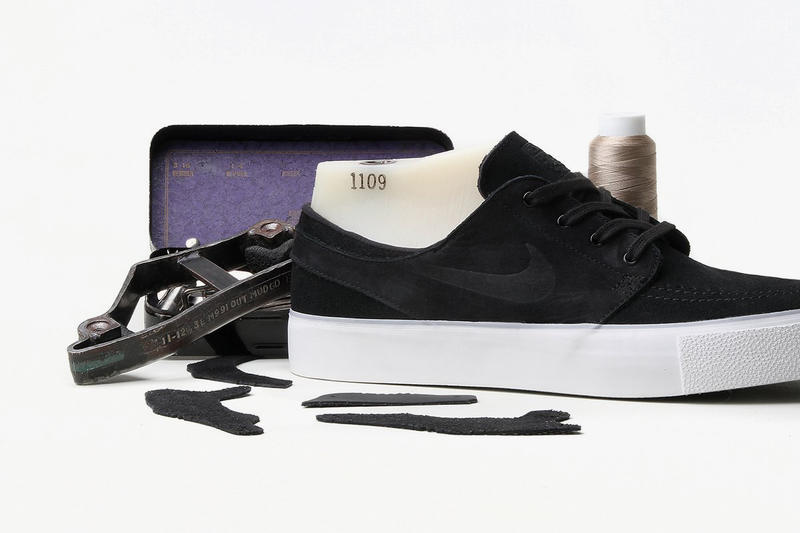 Nike SB Dunk Low Pro Blazer Janoski High Tape Black Deconstructed Pack 2018 January February release date info sneakers shoes footwear premier