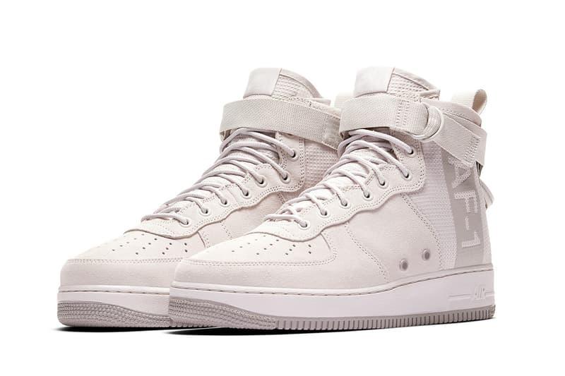 Nike SF AF1 Mid Makeover nike sportswear footwear 2018 spring summer release date info sneakers shoes