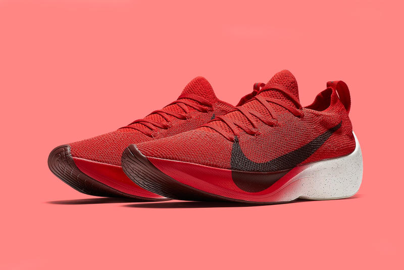 Nike Vapor Street Flyknit University Red release dates footwear february 2018