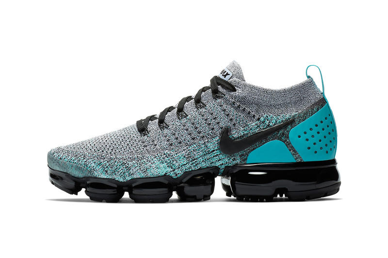 712946bd0250 Nike Vapormax Flyknit 2.0 Three New Colors Air Max Day Pink Ice Blue Black  Sneakers Shoes