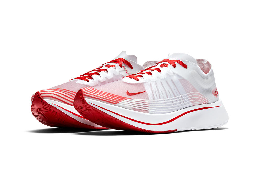 Nike Zoom Fly SP University Red White Summit White footwear march 2018