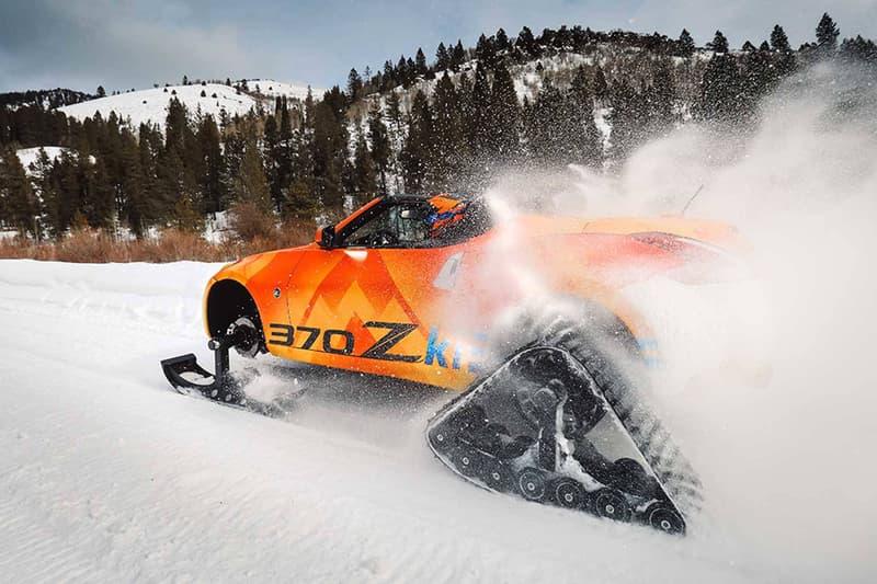 Nissan 370Zki Snowmobile snow car preview