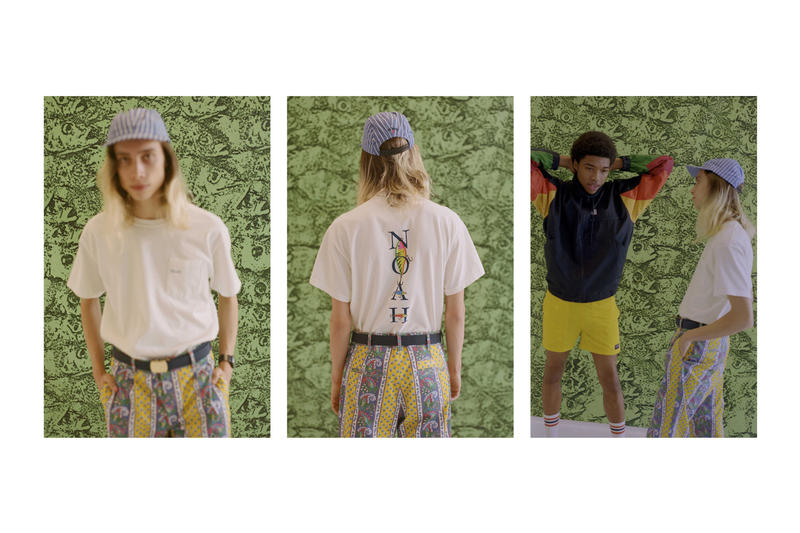 NOAH Spring Summer 2018 Lookbook collection february 10 15 release date info