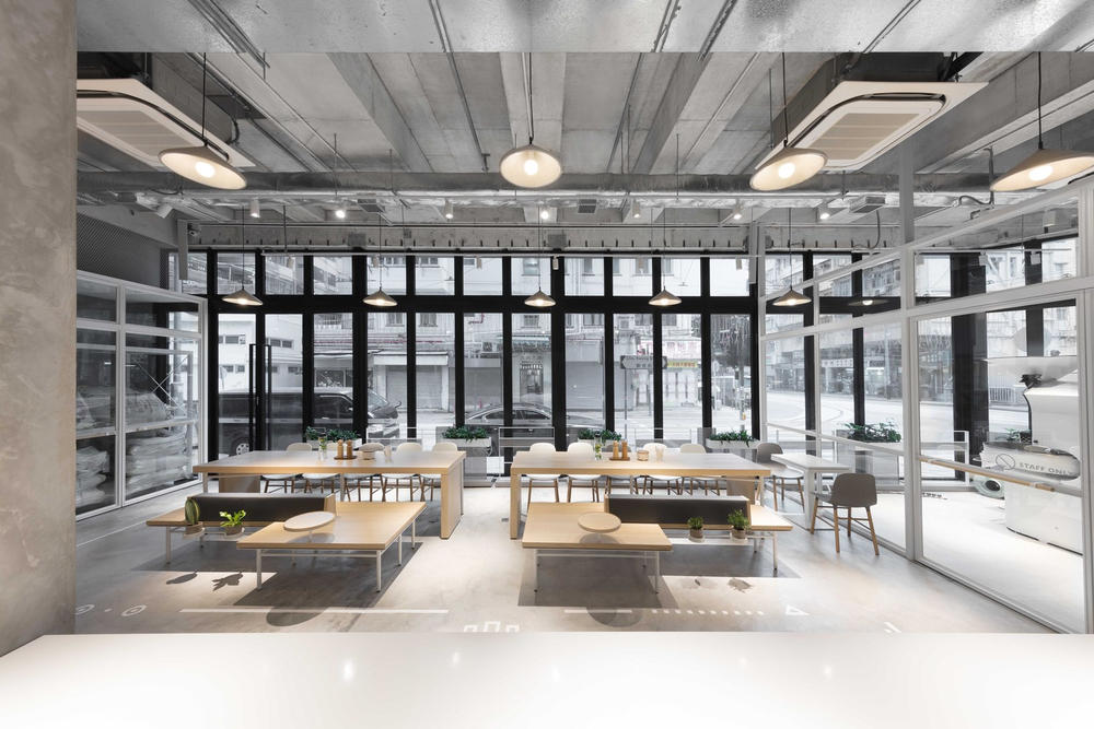 NOC Coffee Co. Hong Kong Interior Design