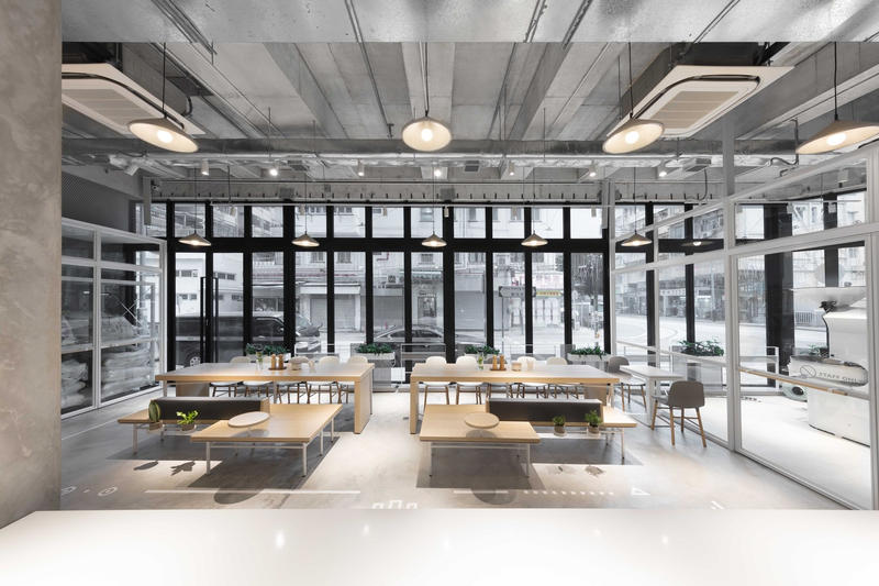 NOC Coffee Co. Hong Kong Interior Design