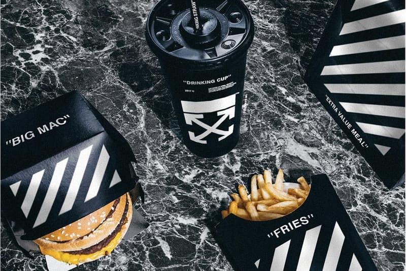 Off-White McDonald's Black Soul Custom Design blkvis Instagram