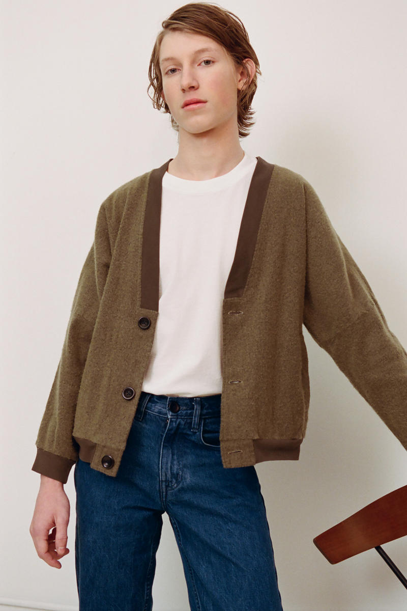 Olderbrother 2018 fall winter staycation Collection lookbook portland Oregon ethical sustainable fashion upcycle denim
