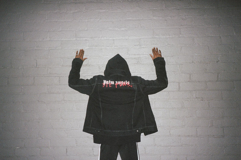 Playboi Carti Palm Angels Die Punk Collection collab drop patron of the new 2018 february 10 new york