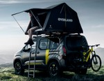 Peugeot Combines Car and Tent With Rifter 4X4 Concept