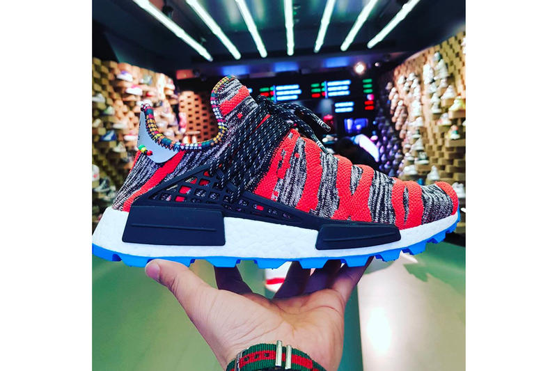 Pharrell Williams adidas Hu NMD Trail Afro Pack