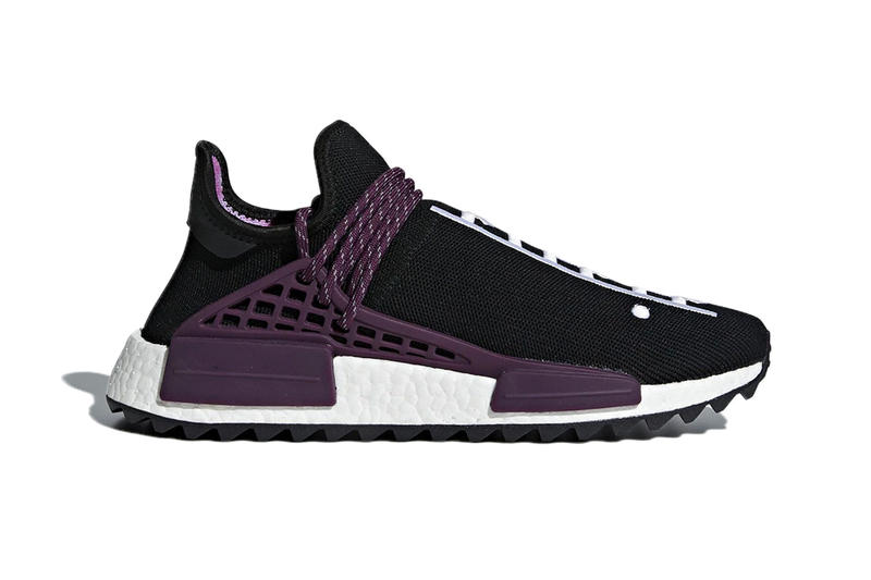 ef6d41828323d Pharrell Williams adidas originals NMD Hu Holi Festival Pack Tie Dye Purple  Green Black Orange