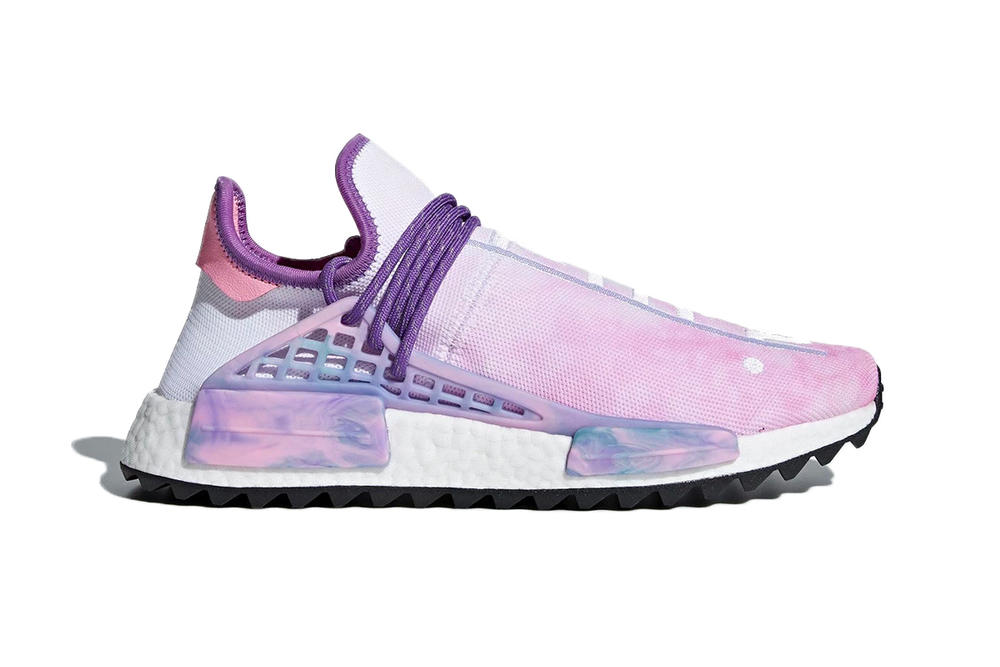 Pharrell Williams adidas originals NMD Hu Holi Festival Pack Tie Dye Purple Green Black Orange