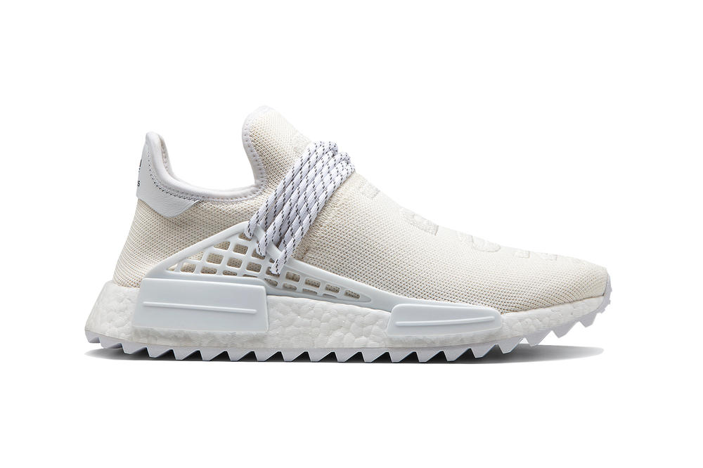"Pharrell Williams adidas Originals ""Blank Canvas"" Holi Stan Smith Hu NMD Trail Tennis Hu PK Primeknit"