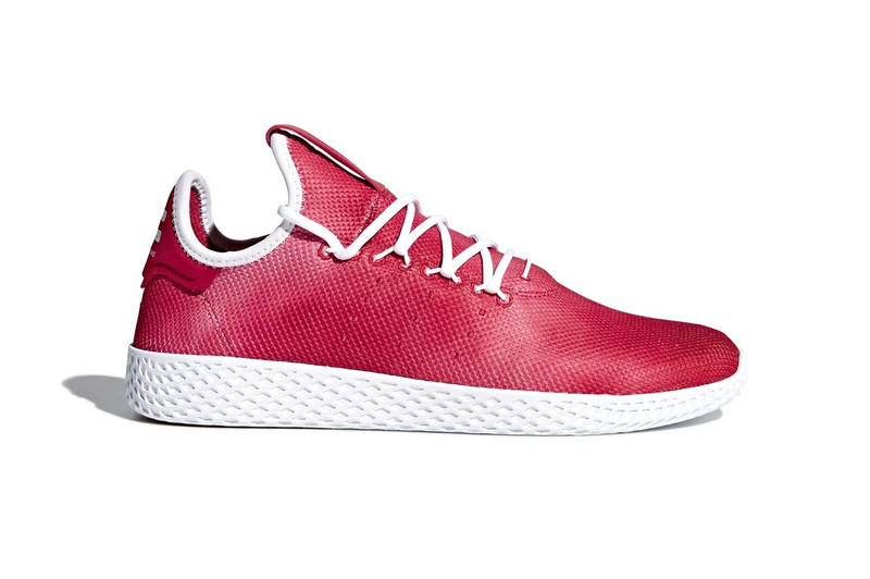 70d81ad58126f Pharrell adidas Tennis Hu Red 2018 spring summer release date info sneakers  shoes footwear williams