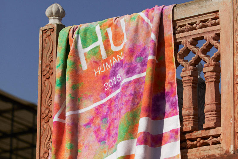 Pharrell Williams adidas Originals Hu Holi Third Final Capsule Tennis Hu Stan Smith NMD Apparel Sneakers Beach Towel