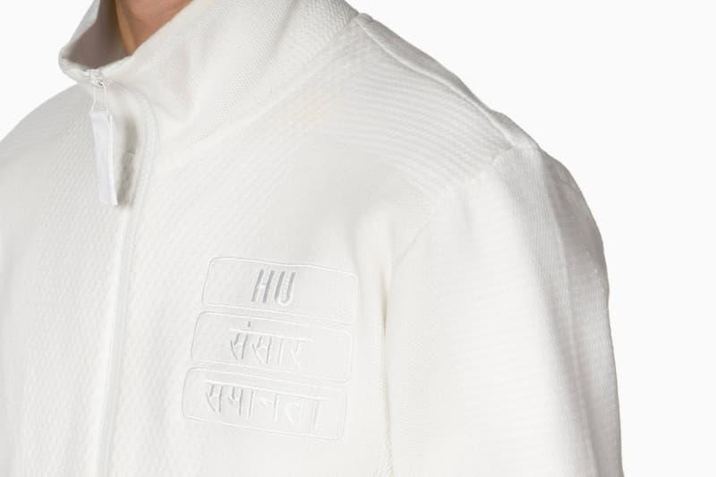 Pharrell Williams adidas Holi Track Jacket White Release