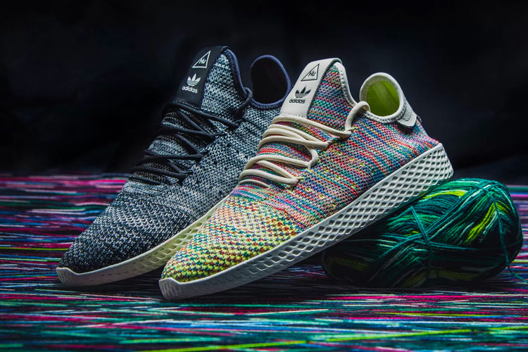 cf954bb13 The Pharrell Williams x adidas Tennis Hu Pack Is Ready to Drop This Week