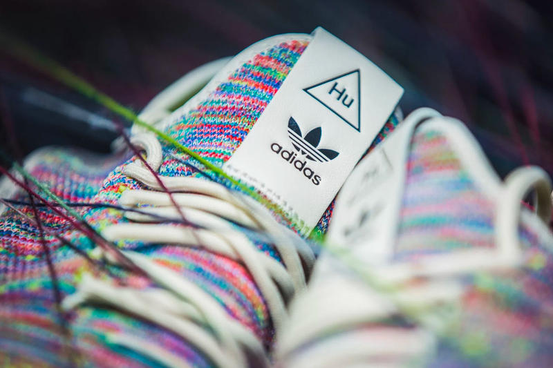 Pharrell Williams adidas Tennis Hu Pack Oreo Multicolor March 2 Release