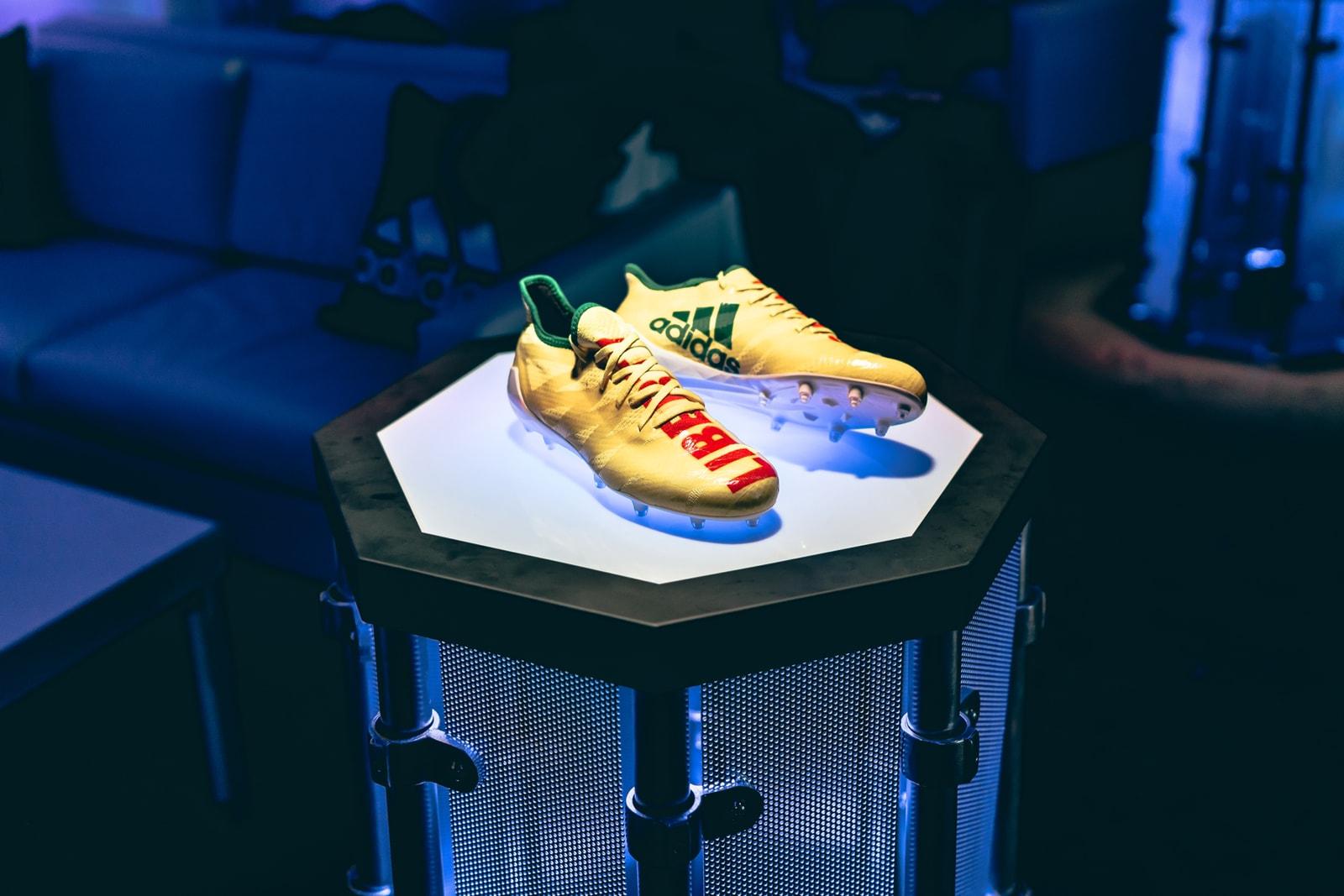 Pharrell Williams adidas Liberty + Justice AM4MN Cleat NFL Football Snoop Dogg Super Bowl LII adidas Originals