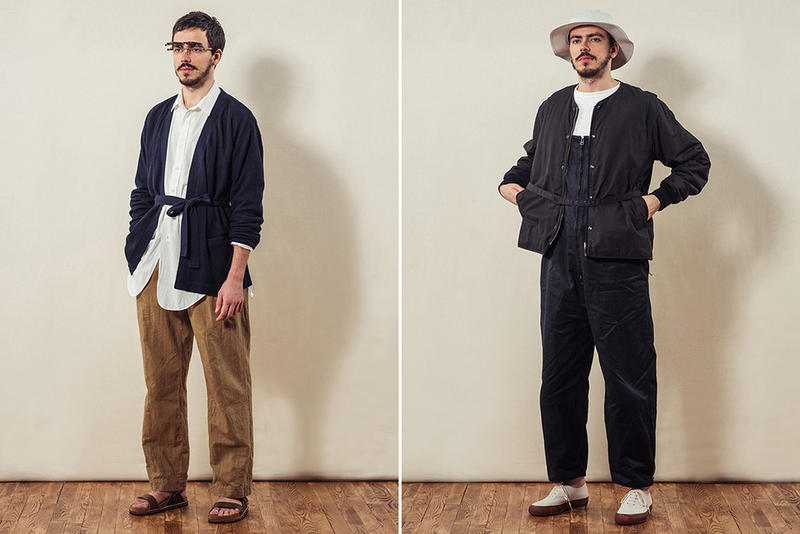 Phigvel Makers Co. 2018 Spring/Summer Lookbook Collection Workwear Tokyo