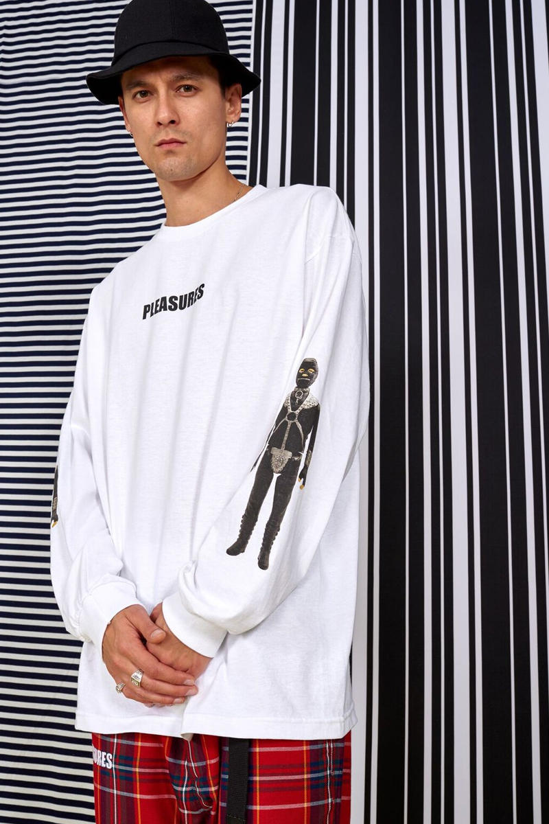PLEASURES Spring 2018 Freaks in LOVE Collection T Shirt Hoodie Jacket Cap Hat Yeti Out Aurther Bray