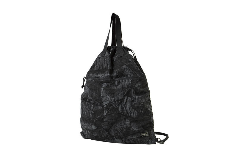 PORTER 2018 Spring Summer Leaf Shade Series camouflage february release date info bags