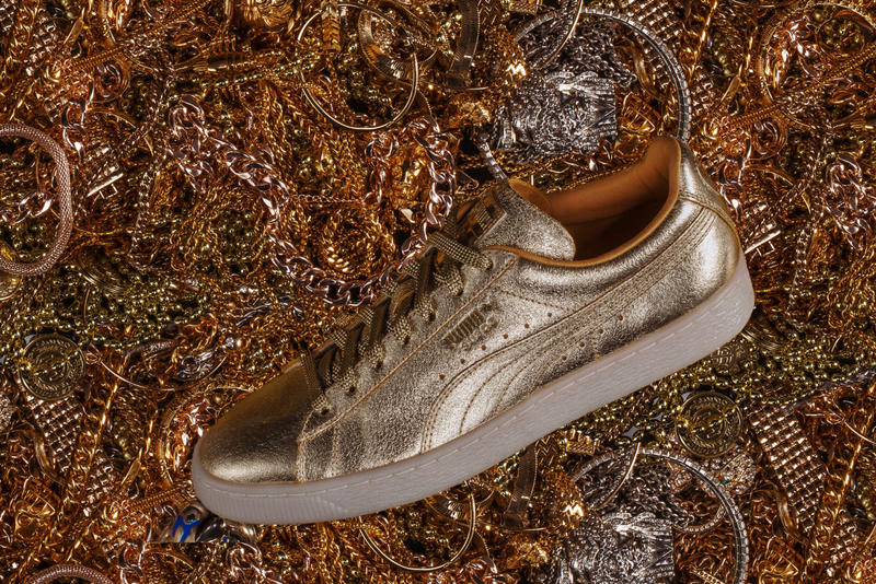 PUMA Golden Suede Release Date purchase now metallic gold