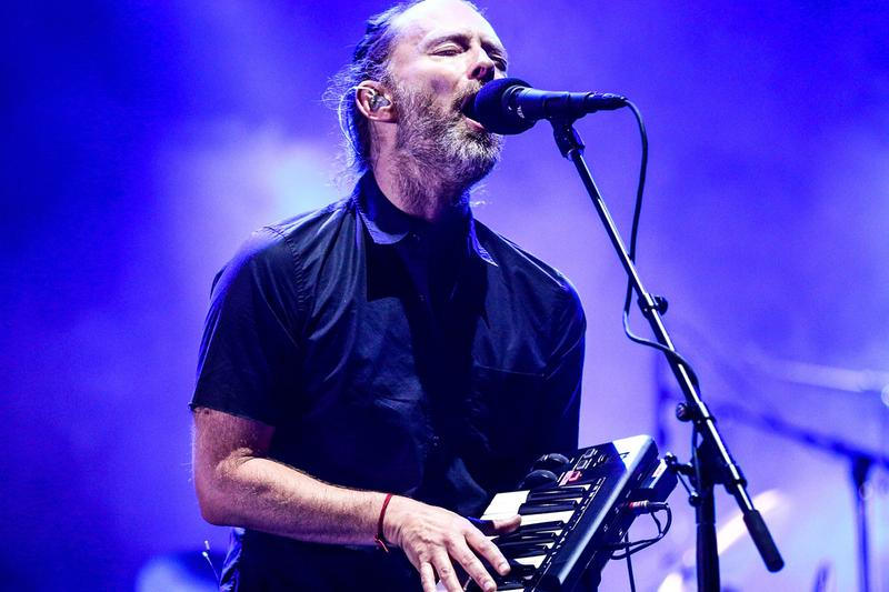 Radiohead 2018 North America Summer Tour Dates us united states canada Flying Lotus