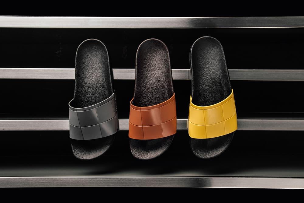 Raf Simons adidas Adilette Checkerboard Pack Release Info Granite Dark Brown Super Lemon