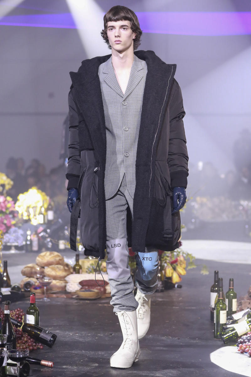 Raf Simons Fall Winter 2018 Collection New York Fashion Week Mens Runway