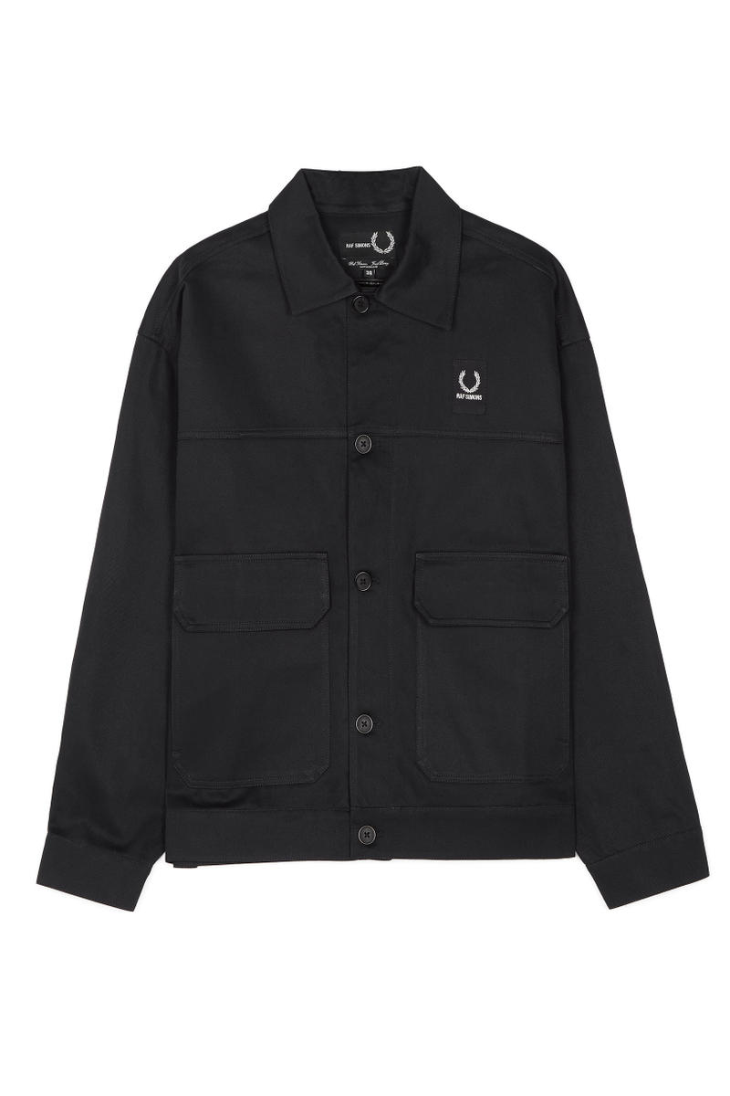 Raf Simons Fred Perry Spring Summer 2018 Collection polo shirts jeans pants
