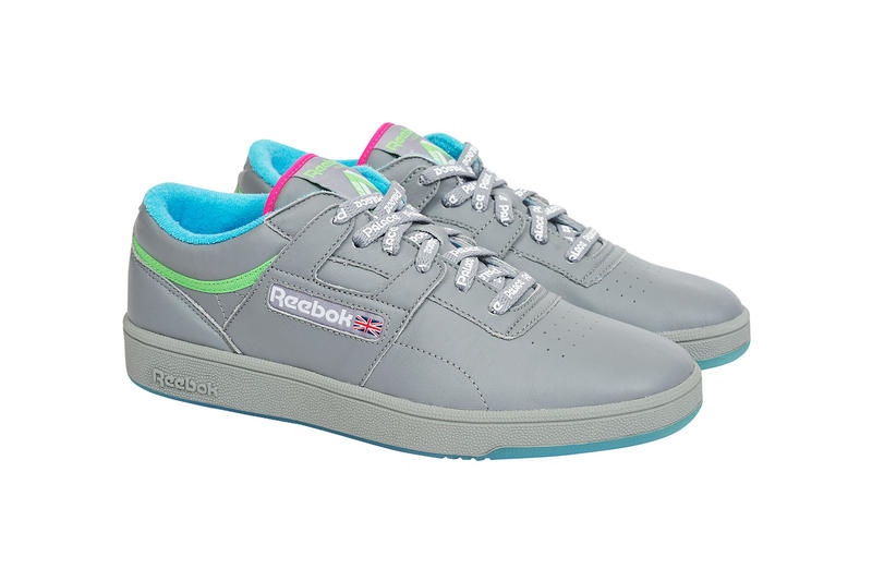 Palace x Reebok Workout Collaboration Grey Colorway Black Colorway White Colorway Spring 2018 Drop