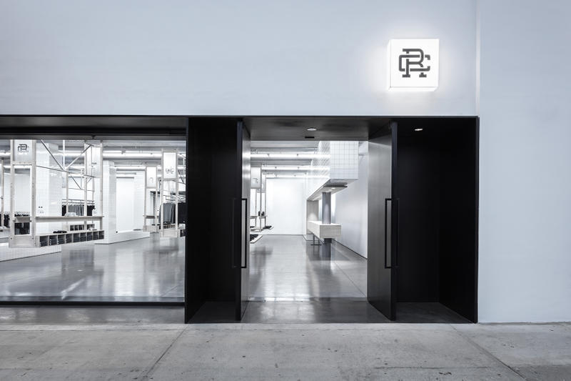 Reigning Champ La Brea look inside los angeles us united states america store