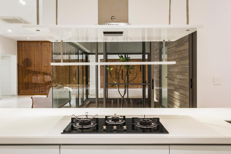 Residence 414 Charged Voids Building Modern Interior Panchkula India