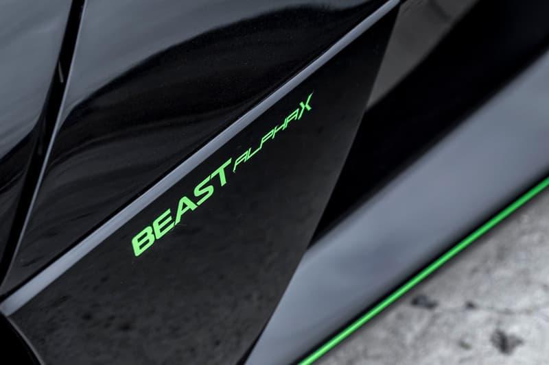 Rezvani Beast Alpha X Blackbird Carbon Fiber Supercar Hypercar Options Black Roadster Cars SR 71 Lotus Elise