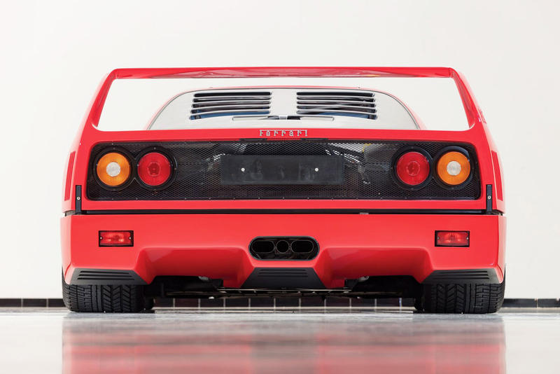 RM Sotheby's 1992 Ferrari F40 2018 Paris Auction