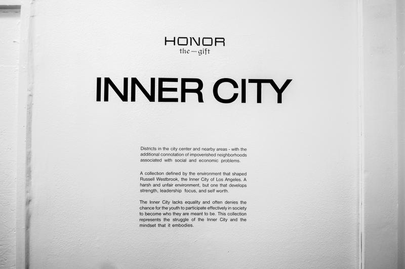 Russell Westbrook Honor the Gift Inner City Collection capsule All Star Weekend Pop-up shop asw los angeles california nba basketball fashion style streetwear brand