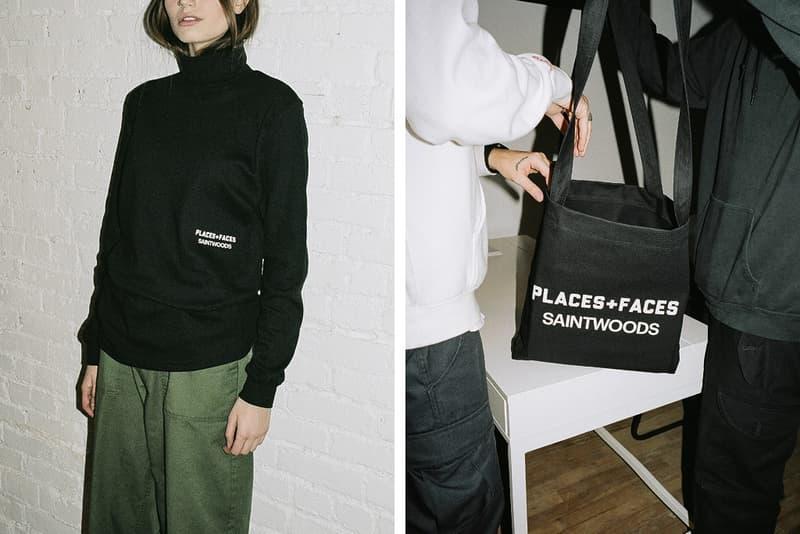 Saintwoods Places Faces Capsule Collection Collaboration