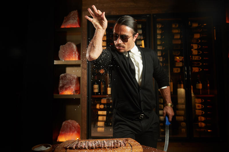 Salt Bae Burger Chain