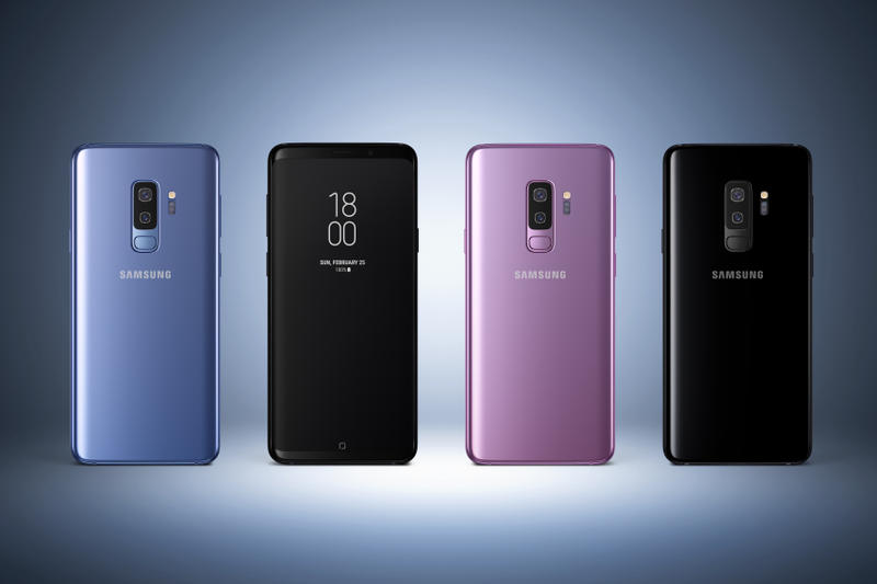 Samsung Galaxy S9 Samsung Galaxy S9+ Barcelona Mobile World Congress