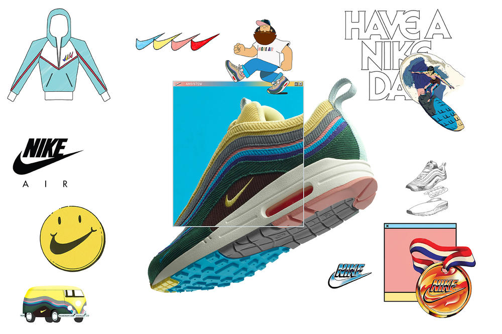 Sean Wotherspoon x Nike AM1/97 SNKRS Re-Release Round Two Information Drop