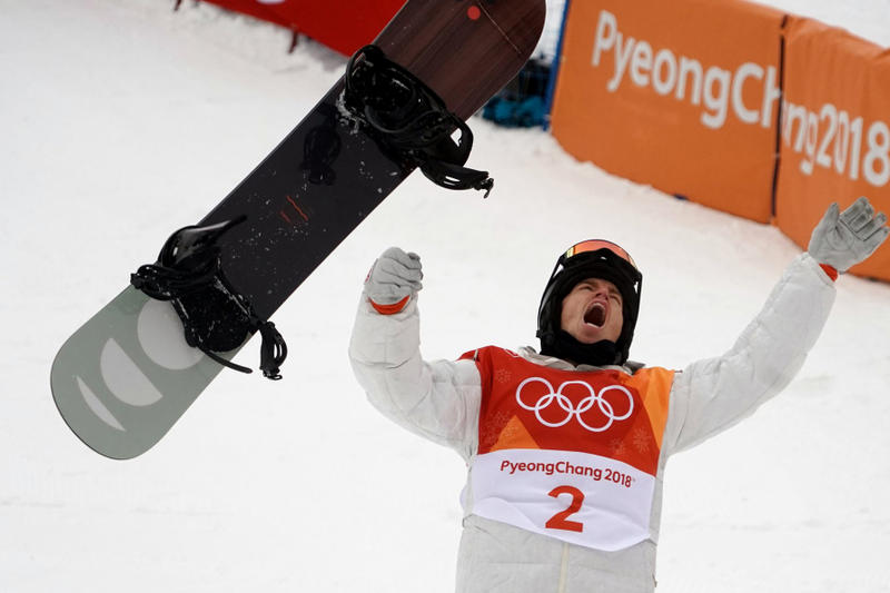 Shaun White Wins Halfpipe Gold Medal 2018 Winter Olympics PYEONGCHANG South Korea
