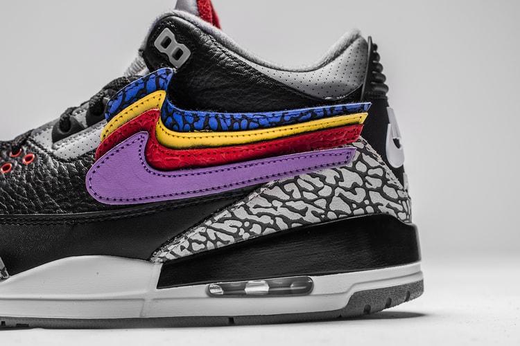 buy popular 46ced c7e9f Nice Kicks. The Shoe Surgeon Is Dropping Another Custom Justin Timberlake  Air Jordan 3