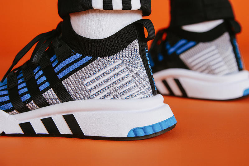 size? adidas EQT Support Mid OG Blue Exclusive Release