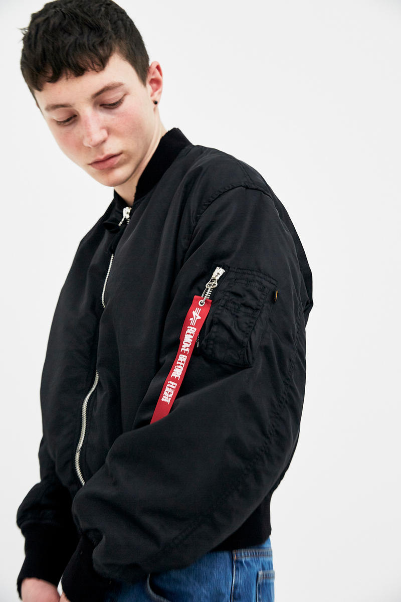 Slam Jam 424 Alpha Industries Closer Look Machine-A Guillermo Andrade