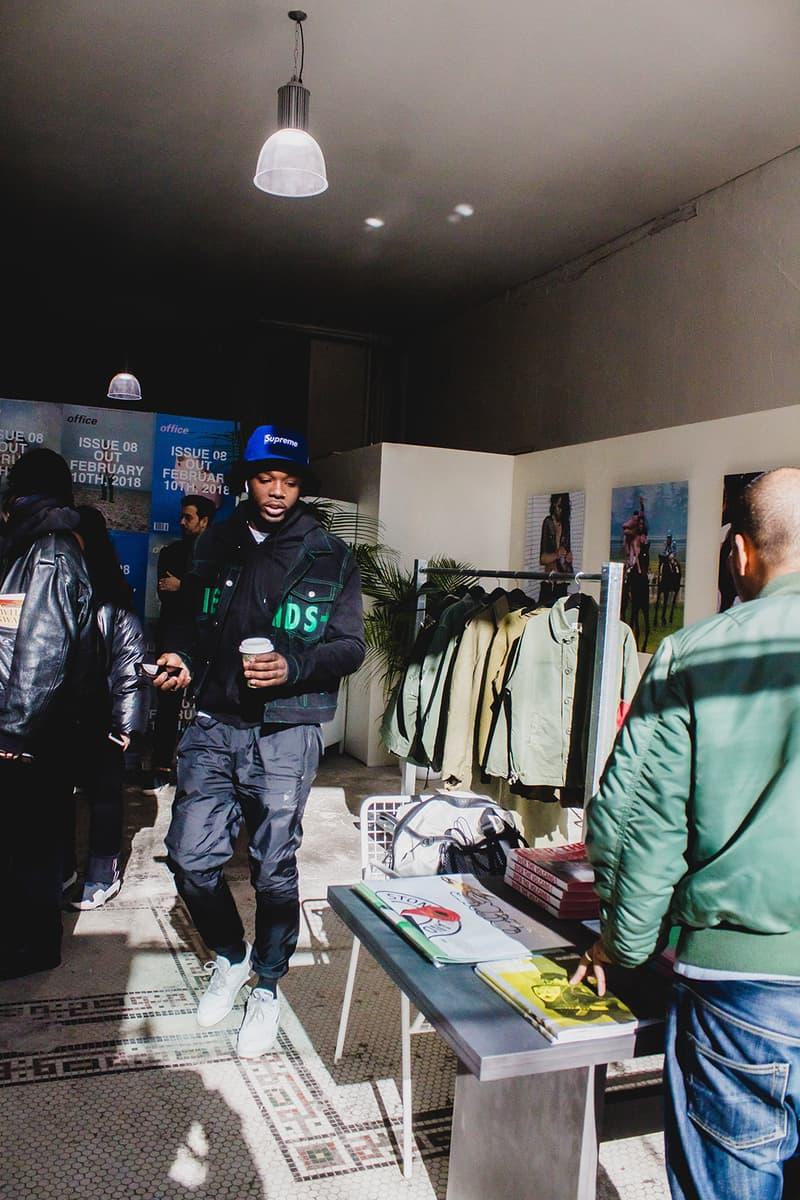 Slam Jam Socialism New York City NYC Pop up italy kappa kontroll foosball collaboration office magazine exclusive drop clothing Tournament Kalen Hollomonthe  soho
