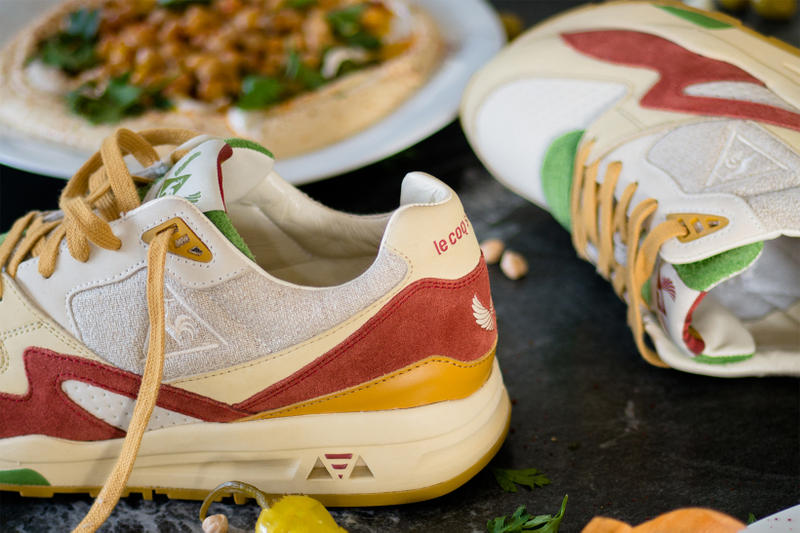 Sneakerbox TLV Le Coq Sportif R800 Hummus tel aviv israel collaboration 2018 february release date info sneakers shoes footwear 7 anniversary