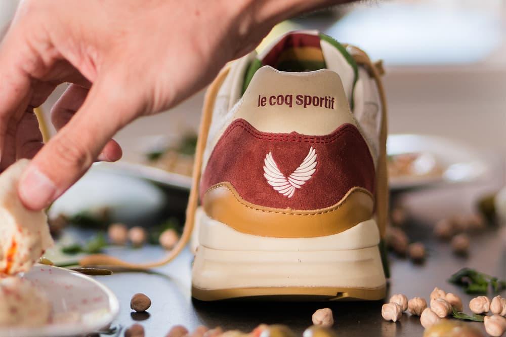 Sneakerbox TLV Le Coq Sportif R800 Hummus tel aviv israel collaboration 2018 february release date info sneakers shoes footwear 7 anniversary